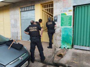Foto: Divulgação/PF-PI - Atuação da Polícia Federal no cumprimento de mandados