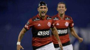 Flamengo  Foto: Juan Mabromata / POOL / AFP