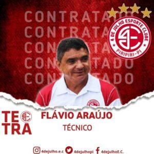 Flávio Araújo - 4 de Julho