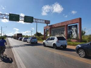 Divisa Maranhão/Piauí - Foto: Tiago Melo/TV Cidade Verde Divisa Maranhão/Piauí
