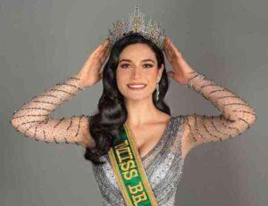 Julia Gama - Miss Universo representando o Brasil